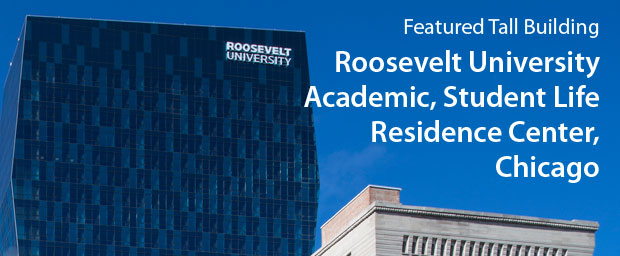 Roosevelt University Academic, Student Life Residence Center