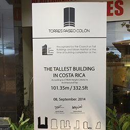 Torre Paseo Colón 2 Signboard Ceremony