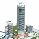 The Vertical Corporate Campus: Integrating Modern Workplace Models into the High-Rise Typology