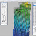 A Software Tool for the Analysis of Time-Dependent Effects in High-Rise Buildings