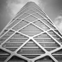 The Rational Optimization and Evolution of the Structural Diagonal Aesthetic in Supertall Towers