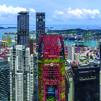 Oasia Hotel Downtown, Singapore: A Tall Prototype for the Tropics
