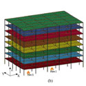 Simulating the Response of a 10-Storey Steel-Framed Building under Spreading Multi-Compartment Fires